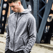 Mens Running Hoody